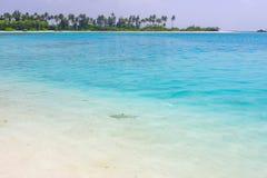 Olhuveli wyspa, Maldives Fotografia Royalty Free