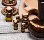 Oli essenziali aromatici naturali Immagine Stock Libera da Diritti