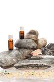 Oli essenziali dalle spezie Fotografia Stock