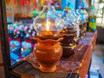 Oli Lamp Fotos de Stock Royalty Free