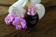 Oli massage. Stock Photos