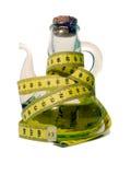 Oliatore con nastro adesivo di misurazione Fotografia Stock Libera da Diritti
