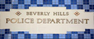 Oliceafdeling van Beverly Hills Royalty-vrije Stock Afbeelding