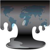 Olie vector illustratie