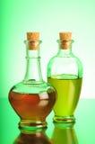 Olie en azijn Stock Foto
