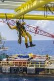 Olie en gas industriële beroeps Royalty-vrije Stock Afbeelding