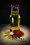 Olie en kruid Royalty-vrije Stock Fotografie