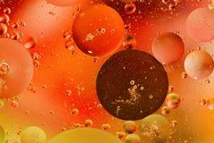 Olie en water Royalty-vrije Stock Afbeeldingen