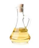 Olie in fles Royalty-vrije Stock Foto's