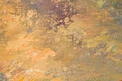 Olie geschilderde achtergrond Royalty-vrije Stock Afbeelding