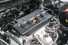 Olie GLB in een Automobiele Motor Royalty-vrije Stock Afbeelding