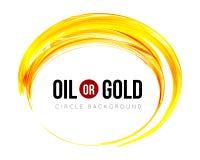 Olie of goud royalty-vrije illustratie