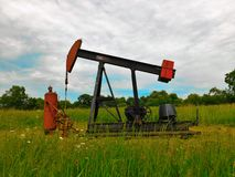 Olie Jack Pump Stock Afbeelding