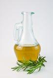 Olie met rozemarijn 1 Royalty-vrije Stock Foto's