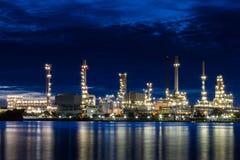 Olie refinery1 Royalty-vrije Stock Afbeelding