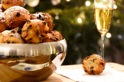 Oliebollen Royalty Free Stock Photo