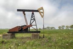 Oliebron in Bulgarije Stock Foto's
