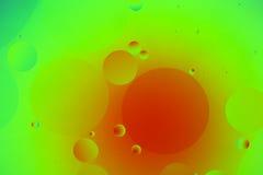 Oliedruppeltjes Stock Foto's