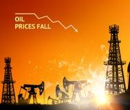 Oliegrafieken Stock Foto's
