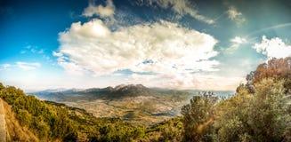 Oliena, Sardaigne Images libres de droits