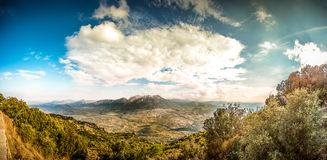 Oliena, Sardinia Royalty Free Stock Images