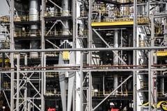 Oliepetrolium die bedrijf vervaardigen Stock Foto