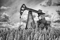 Oliepomp Stock Afbeelding