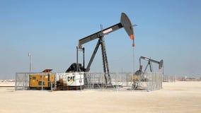 Oliepomp stock videobeelden