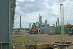 Olieraffinaderij Royalty-vrije Stock Afbeelding