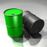 Olievaten Royalty-vrije Stock Fotografie