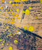 Olieverf op canvas als abstracte achtergrond vector illustratie