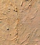 Olieverf op canvas als abstracte achtergrond stock illustratie