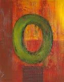 Olieverfschilderij Stock Foto