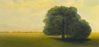 Olieverfschilderij Royalty-vrije Stock Afbeelding