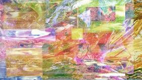 Olieverfschilderij vector illustratie