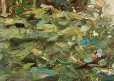 Olieverfschilderij Royalty-vrije Stock Foto's