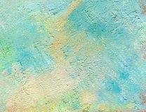 Olieverfschilderij op canvas Abctract heldere achtergrond stock illustratie