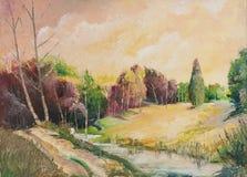 Olieverfschilderijen Royalty-vrije Stock Foto