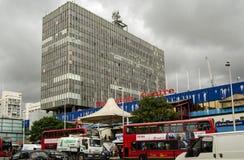 Olifant en Kasteel Winkelend Centrum Stock Afbeelding