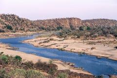 Olifant rzeka w Kruger parku narodowym Zdjęcia Royalty Free