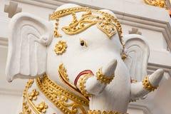 Olifanten in traditioneel Thais stijl het vormen art. Stock Afbeelding