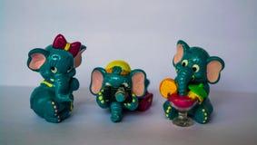 Olifantenspeelgoed Royalty-vrije Stock Afbeeldingen
