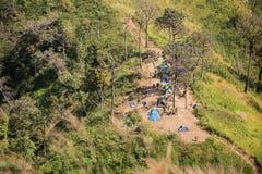 Olifantsberg of Melkwegberg De Nationale Pa van leren riempha Phum Stock Afbeelding