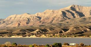 Olifantsbutte het Park van de Meerstaat in New Mexico royalty-vrije stock foto's