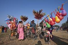Olifantsfestival, Chitwan 2013, Nepal Royalty-vrije Stock Foto's
