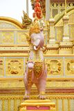 Olifantsgoden, een Mythische Himmapan-Schepselen van Aziatische legende 171 royalty-vrije stock foto
