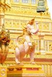 Olifantsgoden, Mythische Schepselen van Aziatische legende 171105 0233 stock afbeeldingen