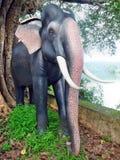 Olifantsstandbeeld Royalty-vrije Stock Foto