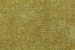Olijf groene achtergrond van zacht textielproduct Stof met natuurlijke textuur Royalty-vrije Stock Foto's
