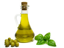 Olijfolie Stock Afbeelding
